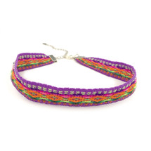 Festival Nights Choker -Purple