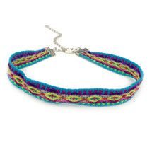 Festival Nights Choker -Turquoise