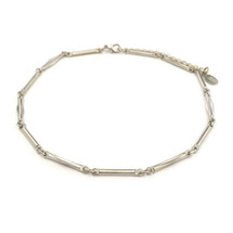 Bands Of Silver Choker