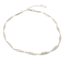 Look West Choker -Silver