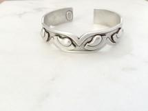 Tribe Cuff -Silver