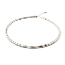 Smooth Roads Choker -Silver