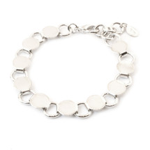 Going In Circles Bracelet -Silver