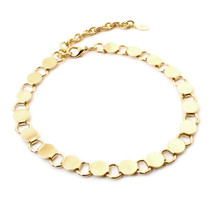 Going In Circles Choker -Gold