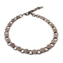 Going In Circles Choker -Gunmetal