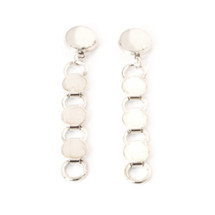 Going In Circles Earring -Silver