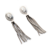 Silver City Tassel Earring