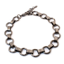 Ring Around Choker -Gunmetal