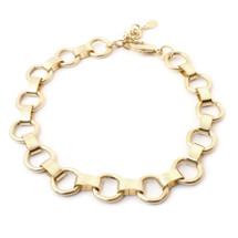 Ring Around Choker -Gold: Seen on Allison McNamara!
