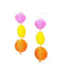 Pinata Drop Earrings: Seen on Jules lookbook!