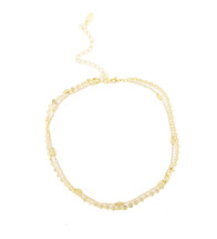 Encircled Double Layer Choker: Seen on Jill Martin on the Today Show!