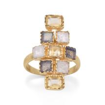 Moonstone Labradorite Ring *Sterling Silver*