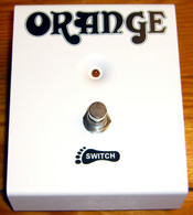 NEW ORANGE SINGLE FUNCTION FOOTSWITCH