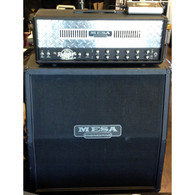 SOLD - MESA SINGLE RECTIFIER SOLO 50 HEAD AND 4X12 4FB CAB w/FOOTSWITCH