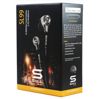 SOUL by Ludacris SL99 High-Def Sound Isolation In-Ear Headphones