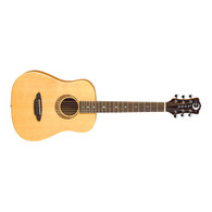 NEW LUNA SAFARI MUSE TRAVEL GUITAR - SPRUCE W/GIGBAG