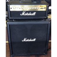 SOLD - MARSHALL MG100HDFX HEAD + MARSHALL 4X12 CAB w/FOOTSWITCH