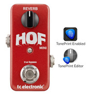 NEW T.C. ELECTRONIC HALL OF FAME MINI REVERB