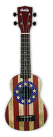 NEW KALA UKADELIC SERIES SOPRANO UKULELE USA Flag