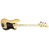 SOLD - 1977 FENDER PRECISION BASS - NATURAL