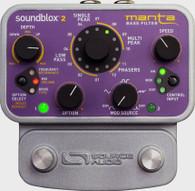 NEW SOURCE AUDIO SA223 MANTA BASS FILTER