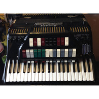 SOLD - CORDOVOX SUPER V ELECTRIC ACCORDION CG-V-M W/ CAG1 AMP