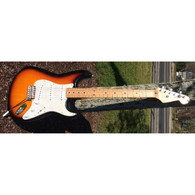 SOLD - 1996 FENDER STANDARD STRATOCASTER - SUNBURST - UPGRADED