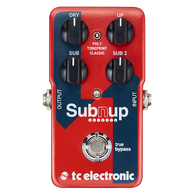 NEW T.C. ELECTRONIC SUB 'N' UP OCTAVER