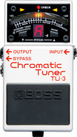 NEW BOSS TU-3 CHROMATIC TUNER
