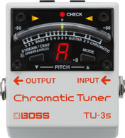 NEW BOSS TU-3S CHROMATIC TUNER