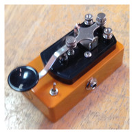 NEW COPPERSOUND TELEGRAPH STUTTER WITH POLARITY SWITCH (CUSTOM COLOR - CANDLE ORANGE)