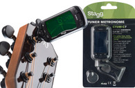NEW STAGG CTUM-C7 CHROMATIC CLIP-ON TUNER