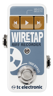 NEW T.C. ELECTRONIC WIRETAP RIFF RECORDER