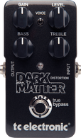 NEW T.C. ELECTRONIC DARK MATTER DISTORTION