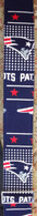 NEW LIMITED EDITION JODI HEAD NEW ENGLAND PATRIOTS GUITAR STRAP V3