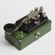 NEW COPPERSOUND TELEGRAPH STUTTER WITH POLARITY SWITCH (CUSTOM COLOR - RELIC'D ARMY GREEN)