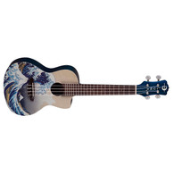 NEW LUNA GWC UKE GREAT WAVES CONCERT W/ GIG BAG