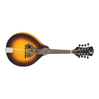NEW LUNA BGM TRINITY A-STYLE MANDOLIN W/ CELTIC INLAY