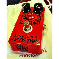 NEW ANALOG MAN SUN BENDER MK1.5 W/ ON/OFF FUZZ POT