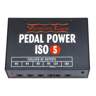 NEW VOODOO LAB PEDAL POWER ISO-5