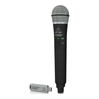 NEW BEHRINGER ULM300USB High-Performance 2.4 GHz Digital Wireless System with Handheld Microphone and Dual-Mode USB Receiver