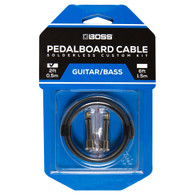 NEW BOSS BCK-2 SOLDERLESS PEDALBOARD CABLE KIT