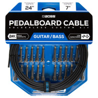 NEW BOSS BCK-24 SOLDERLESS PEDALBOARD CABLE KIT