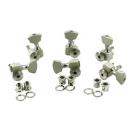 NEW SPERZEL TRIM-LOK 3+3 SATIN CHROME MACHINE HEADS