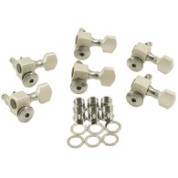 NEW SPERZEL TRIM-LOK 6 INLINE SATIN CHROME MACHINE HEADS