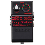 NEW BOSS RC-1 BK LOOP STATION - LIMITED EDITION BLACK