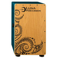 NEW LUNA LPC CAJON, W/ BAG - TEAL