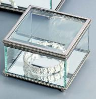 Beaded Square Box