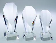 """Crystal Fountain Award (7.25"""", 8.25"""", 9.25"""")"""