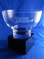 "Crystal Pedestal Bowl (5"", 6.5"")"